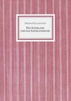 Das Saterland und das Saterländische von Prof. Dr. Dieter Stellmacher